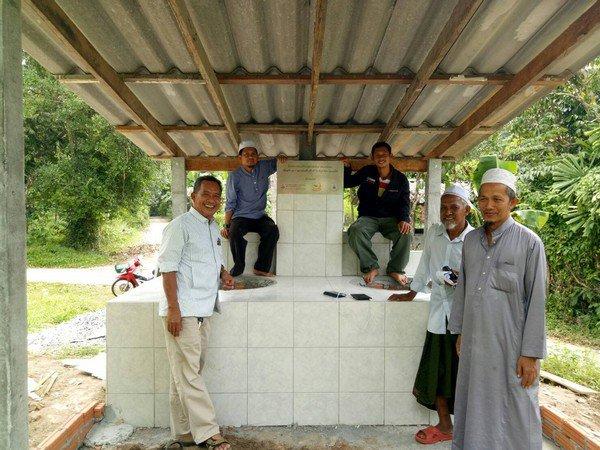 (5)มัสยิดโรงเรียนรัศมีอิสลามวิทยา ม.1 ต.กรมปีนัง